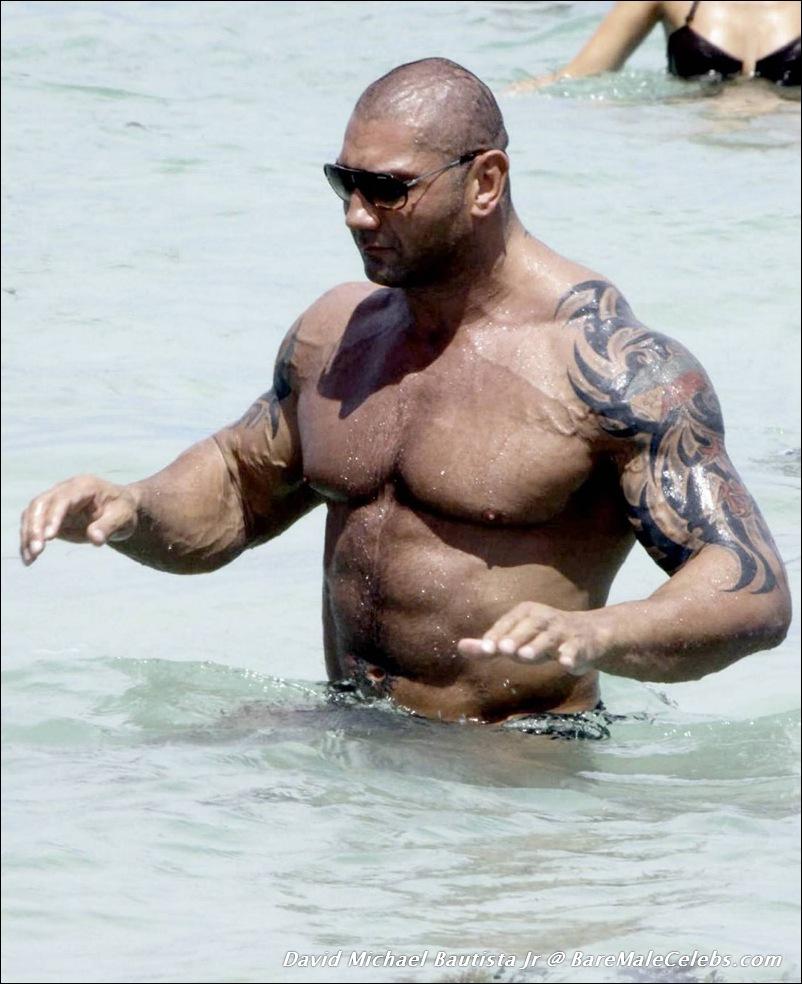 Apologise, but, wwe wrestler batista naked