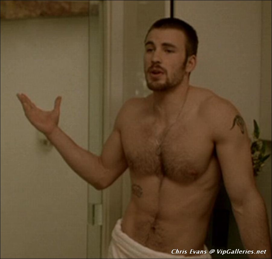 Male Nude Chris Evans