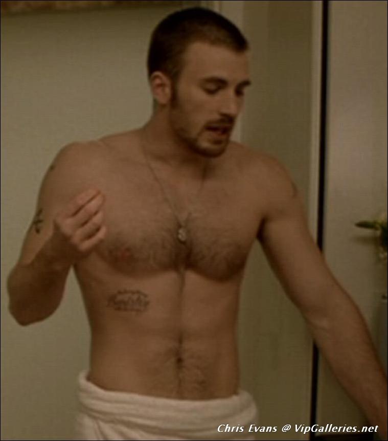 Naked Male Celebrities Chris Evans