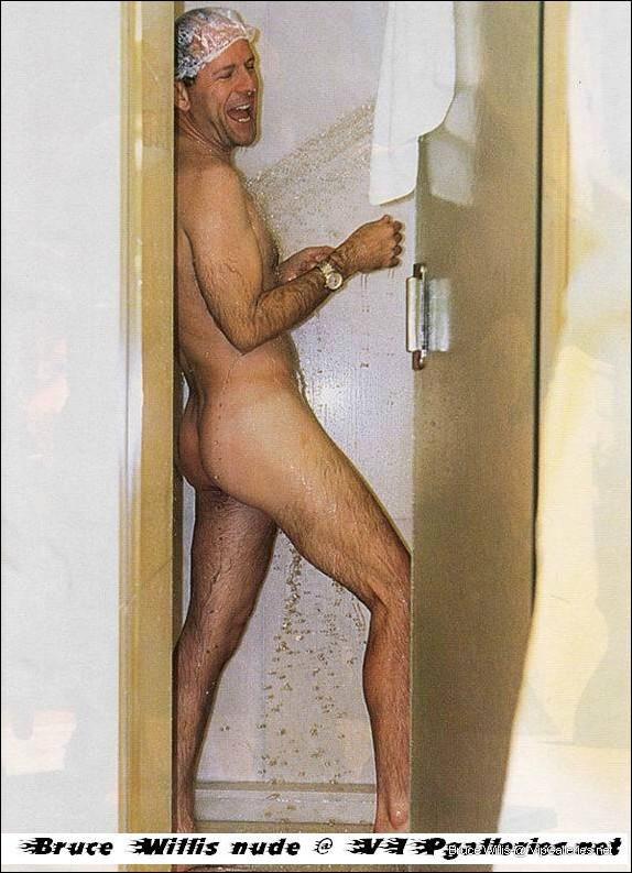 Naked bruce willis Bruce Willis