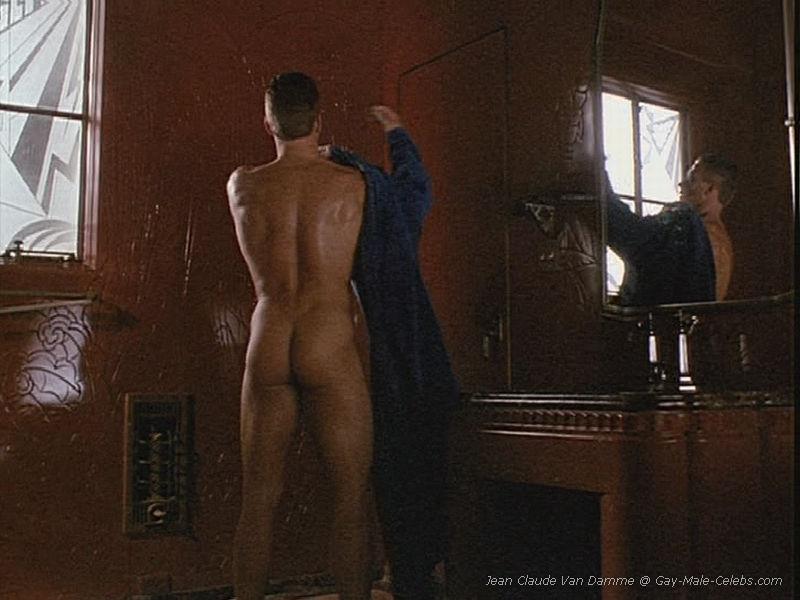 Jean claude van damme naked very