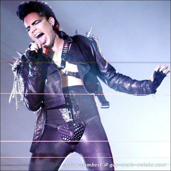 Adam lambert picture with nude woman
