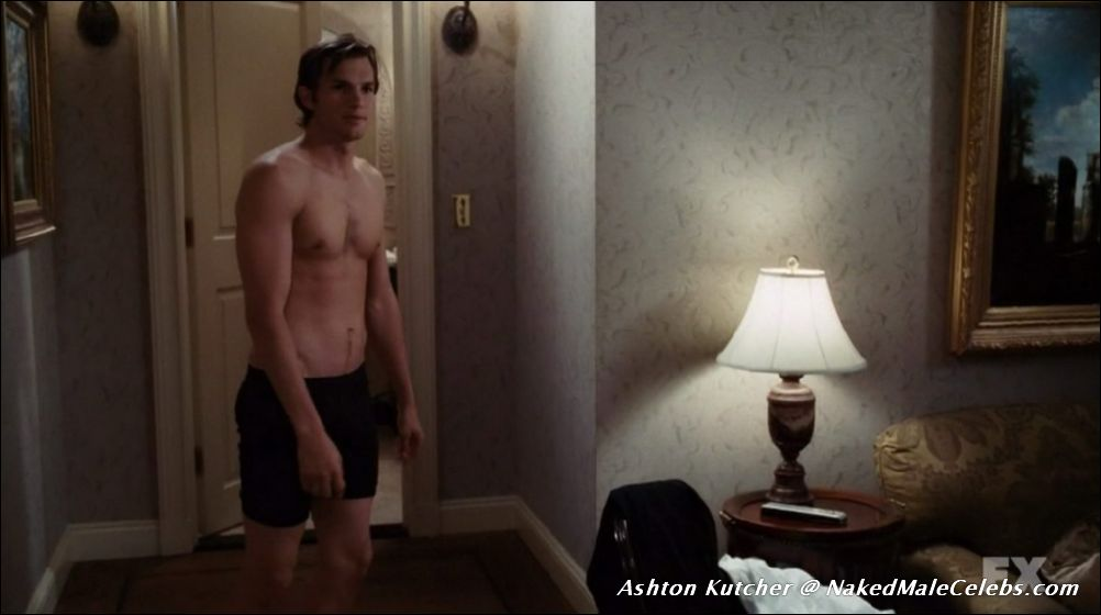 naked Ashton dick kutcher