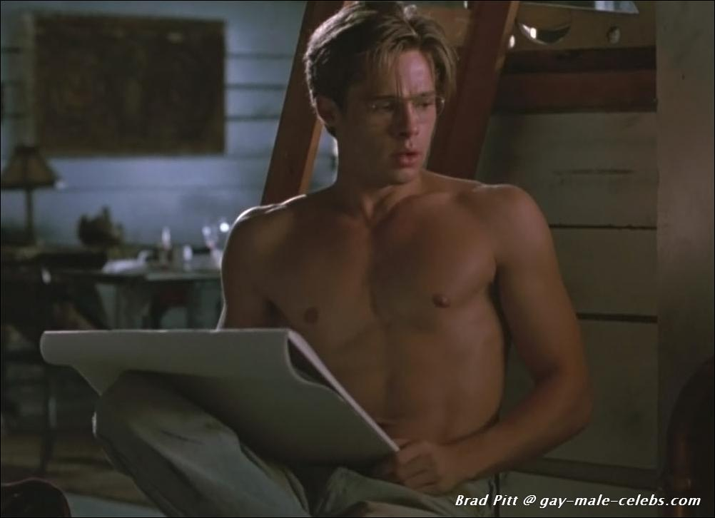Brad pitt naked free