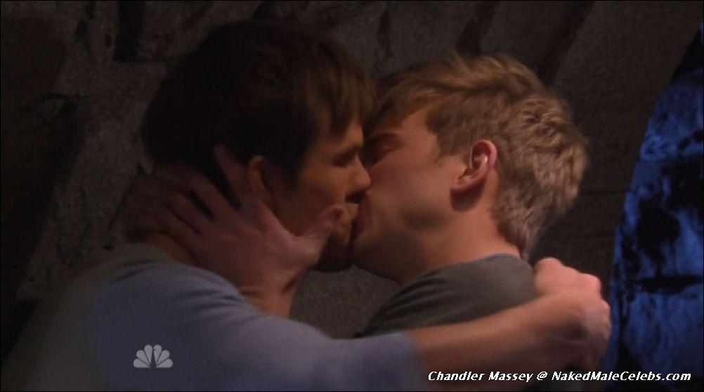 Chandler massey gay kiss