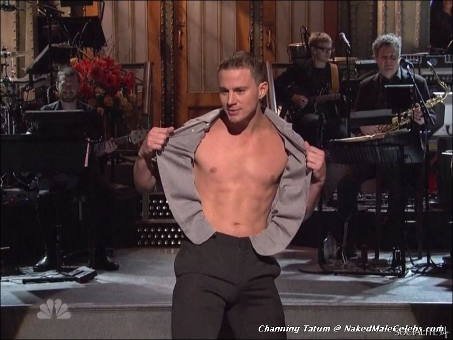 18-Year-Old Channing Tatum Strips As Chan Crawford: