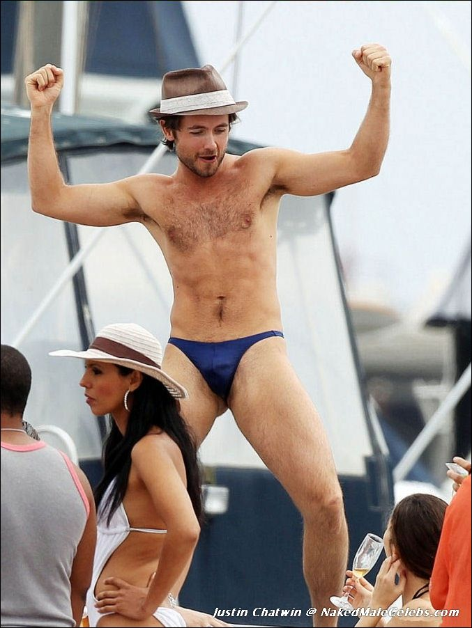 Here Justin chatwin shirtless here casual