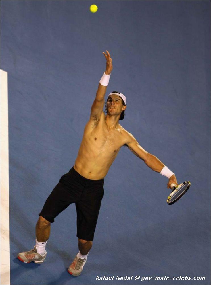 Rafael Nadal Nude