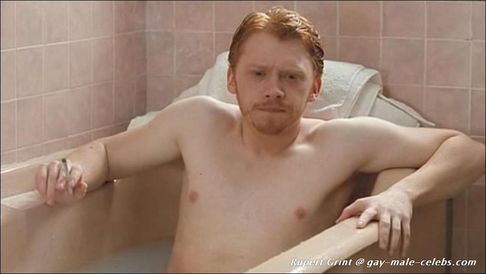 Question Rupert grint naked butt think, that