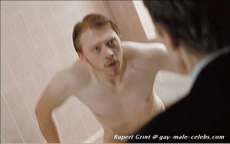 Good piece Rupert grint naked butt