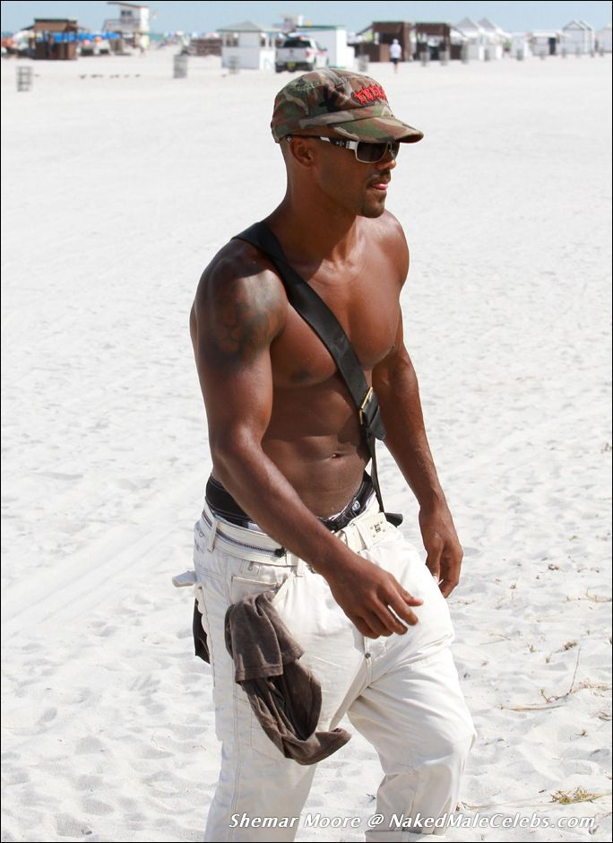 Seems magnificent Shemar moore naked on beach