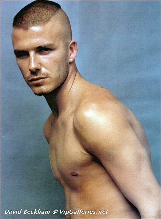 Something is. david beckham porn