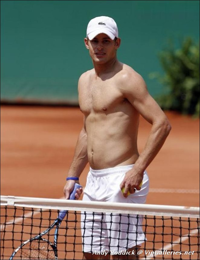 andy roddick naked Fake