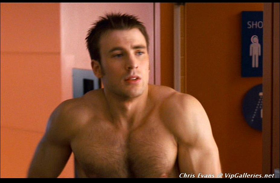Shirtless Chris Evans Nude