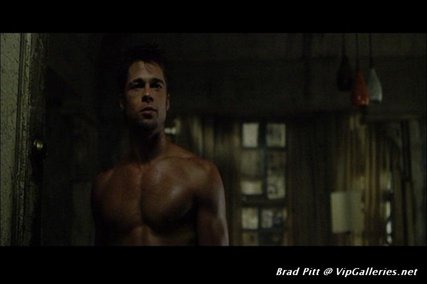 Brad Pitt Nude Fight Club