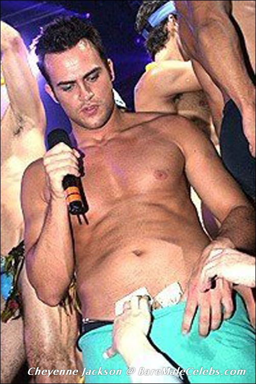 from Miles cheyenne jackson gay pictures